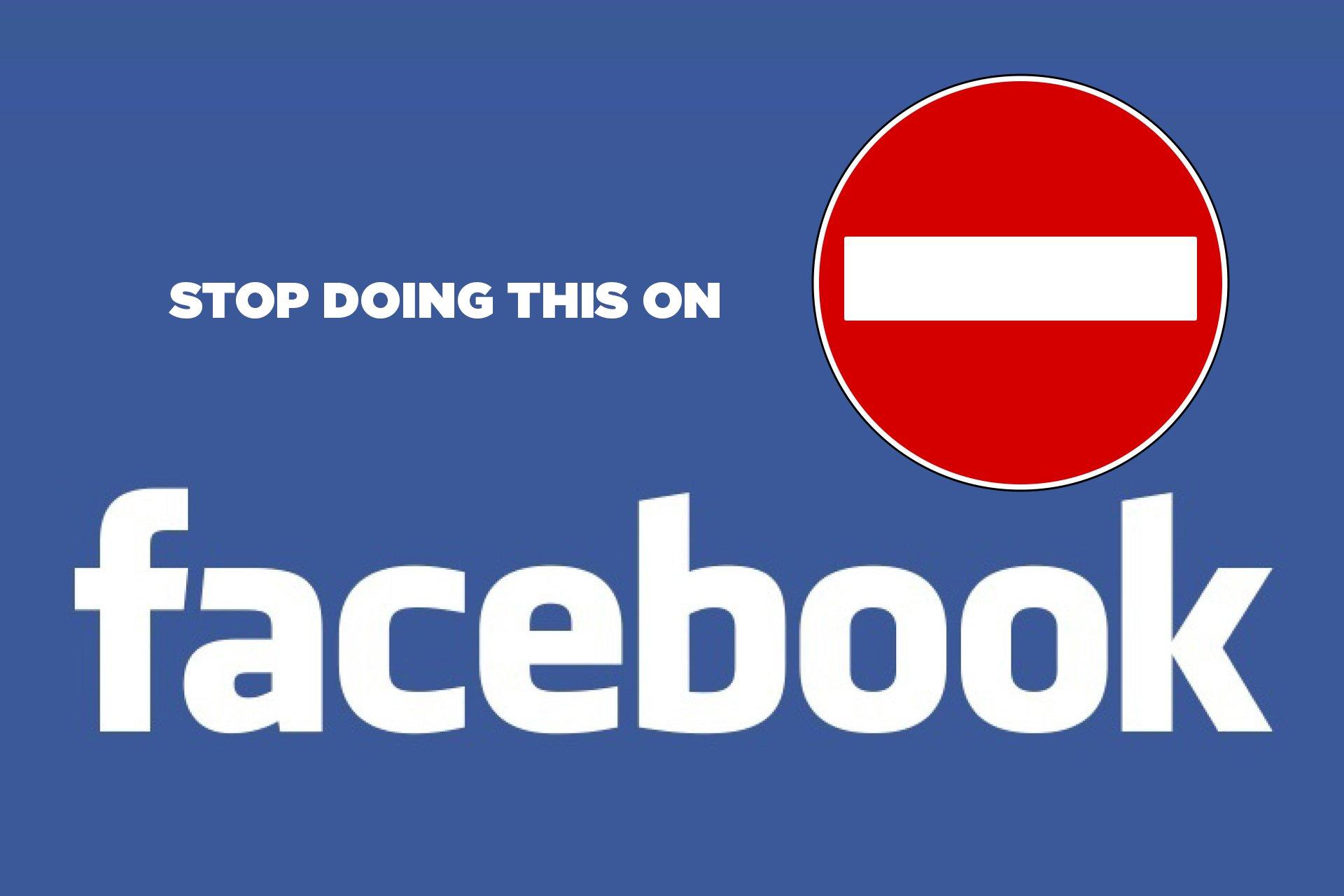 errori su facebook