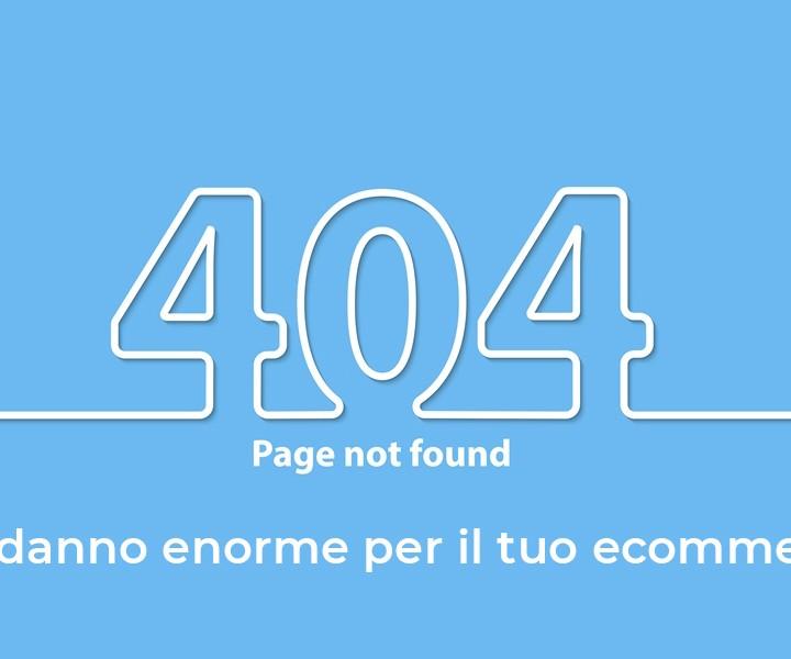 risolvere errore 404