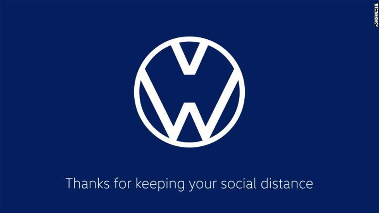 Social distancing logo