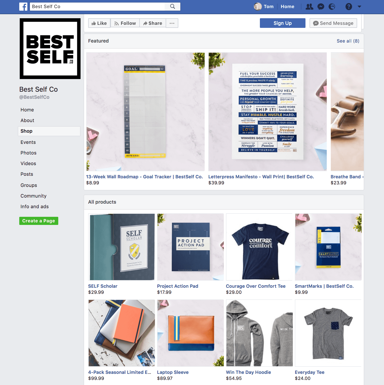 Come creare un Facebook Shop