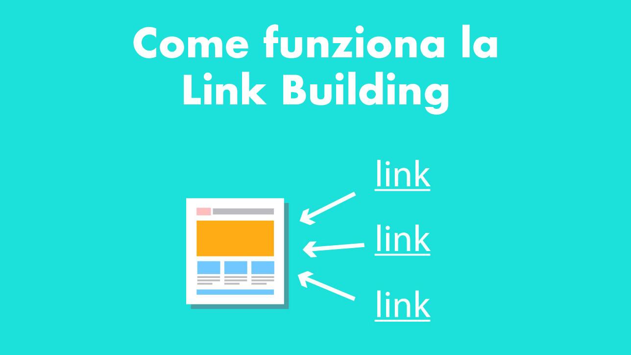 come funziona la link building